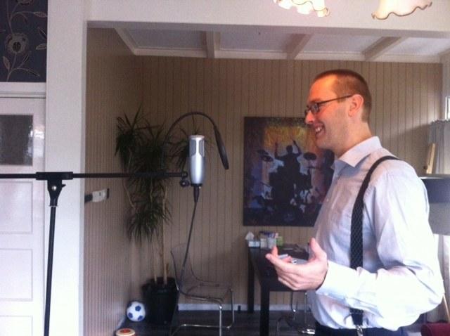 Bertil Schaart Studio opname